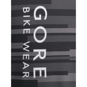 GORE BIKE WEAR Element Stripes Jersey korte mouwen Heren grijs/rood